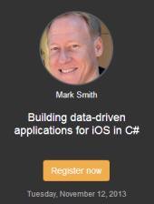 webcast-mark-smith-iOS-and-dotnet-Xamarin