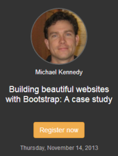 webcast-michael-kennedy-bootstrap-beautiful-websites